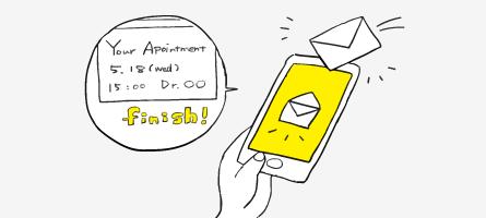 メッセージの自動配信